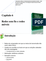 IFRN - Capitulo 6 Redes Sem Fio