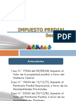 Sesion 03 - Impuesto Predial