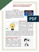 Factores Básicos Para El Desarrollo Del Pensamiento y La Interpretacion