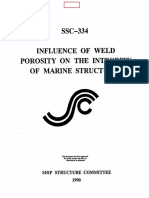 SSC_334_INFLUENCE OF WELD POROSITY ON THE INTEGRITY OF MARINE STRUCTURES..pdf