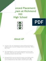 AP at RHHS 2016