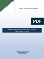 ANÁLISIS DE VIABILIDAD PARA OFRECER INTERNET VIA WIFI EN EL QUINDIO
