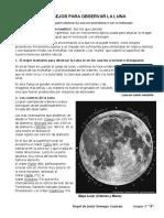 Consejos Para Observar La Luna