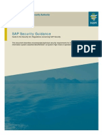 SAP Security Guidance v 1.01
