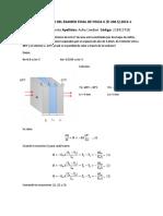 Solucionario Examen Final de Fisica II