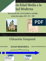 Transicion Edad Media Edad Moderna