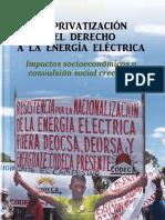 Codeca La Privatizacion Del Derecho a La Energia Electrica 2