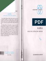 Deleuze & Guattari, Kafka. Pour une litterature mineure (FR) BB (v. Minuit. 1973).pdf