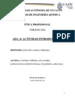 ÉticaProfesional ADA0 ADA1 ADA2 CastilloMedinaAna QA