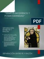 Clases Unidad III Modernidad y Posmodernidad