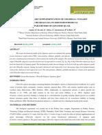 14. Format. App - Effect of Dietary Supplementation of Chlorella Vulgaris _green Microalgae_on Serum Biochemical Parameters of Japanese Quail