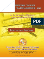 BE BTECH Booklet