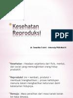 Penyuluhan Kesehatan Reproduksi SD Jumeneng