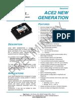 Aflzp0ba (Ace2 New Generation Datasheet) Preliminary