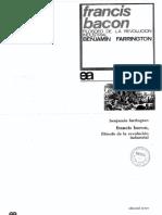 907-Farrington, Benjamin - Francis Bacon filósofo de la Revolución Industrial.pdf