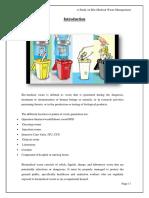 A Study on Bio-Medical Waste Management by Nikhil Mani