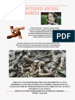 Tolak Disintegrasi Antar Sesama Nusa Dan Bangsa