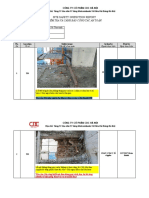 Site Safety Inspection Report