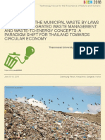 Remodelling the Municipal Waste By-laws Based on Integrated Waste Management and Waste-to-Energy Concepts