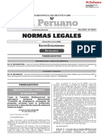 RESOLUCION SUPREMA N° 129-2018-PCM