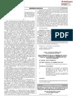 RESOLUCION DIRECTORAL N° 014-2018-EF/50.01
