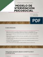 modelo de intervención psicosocial