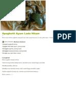 Resep Spaghetti Ayam Lada Hitam Oleh Joanne Sebastian - Cookpad