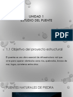 Unidad i Estudio Del Puente