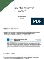 Tratamentul Paliativ in Cancer