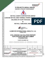 3058-Neyveli Design Report for Reclaimer