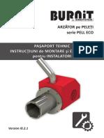Manual Utilizare Si Instalare Arzator Pell Eco Vi0.2.1 SPI