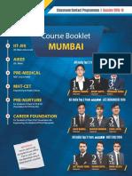 Mumbai Course 2018 19