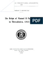 Dennis-The Reign of Manuel II Palaeologus in Thessalonica, 1382-1387.pdf