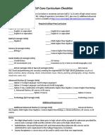 HELP Grant Checklist 2016