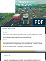 Sensel Telematics_ Bangalore