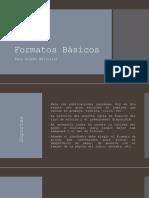Formatos Básicos de impresion