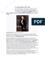 Crisis Económica y Hacendaria 1867