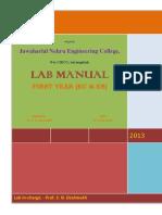 Ec Es Lab Manual