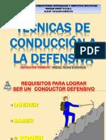 Manejo a La Defensiva 2015
