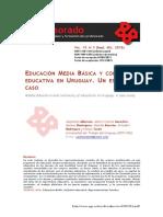 Educación media básica y continuidad educativa en Uruguay. Estudio de caso