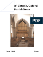 June 2018 Parish News, St Giles Church, Oxford