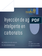 Inyección de Agua Inteligente en Carbonatos