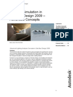 3ds Max Design 2009 Daylight Simulation Advanced