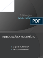 01 - Unicarioca - Multimídia - Introdução