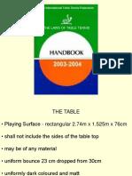 ITTF Rules 2004