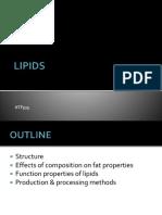 Chapter 3 Lipids