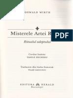 Misterele Artei Regale - Oswald Wirth