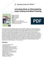 [NIIR] the Complete Technology Book on Electroplating, Phosphating Powder Coating and Metal Finishing
