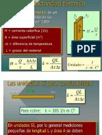 Transferencia Calor Conductividad Térmica
