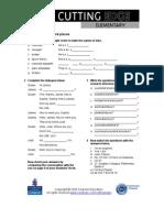 CE Elementary Module 01 Web Worksheet